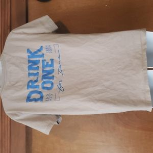 DUTCH BROS drink one for Dane tee large
